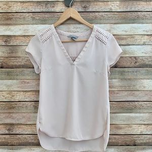 H&M Nude Pink Blouse